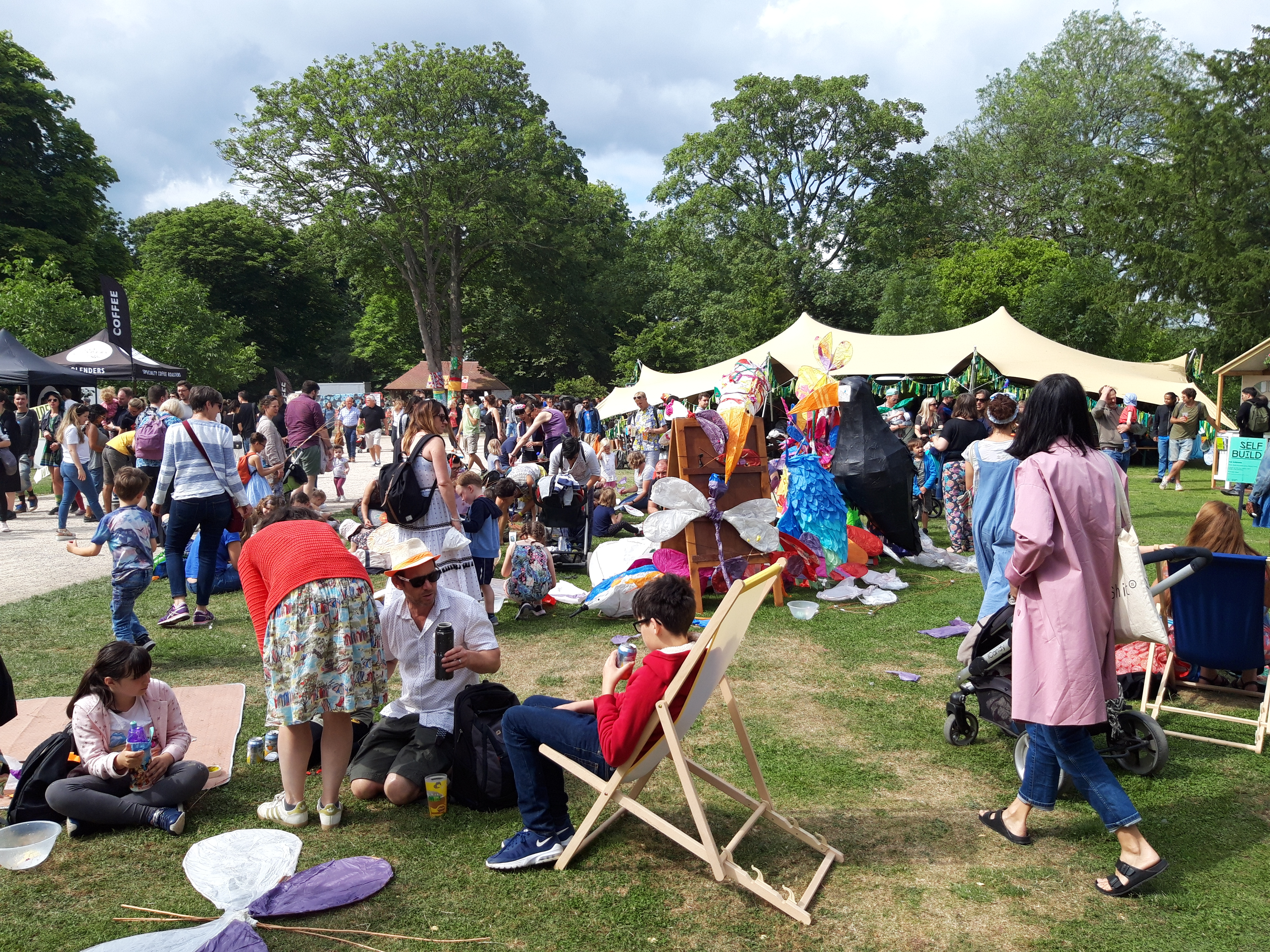 Festivals and events in London's parks
