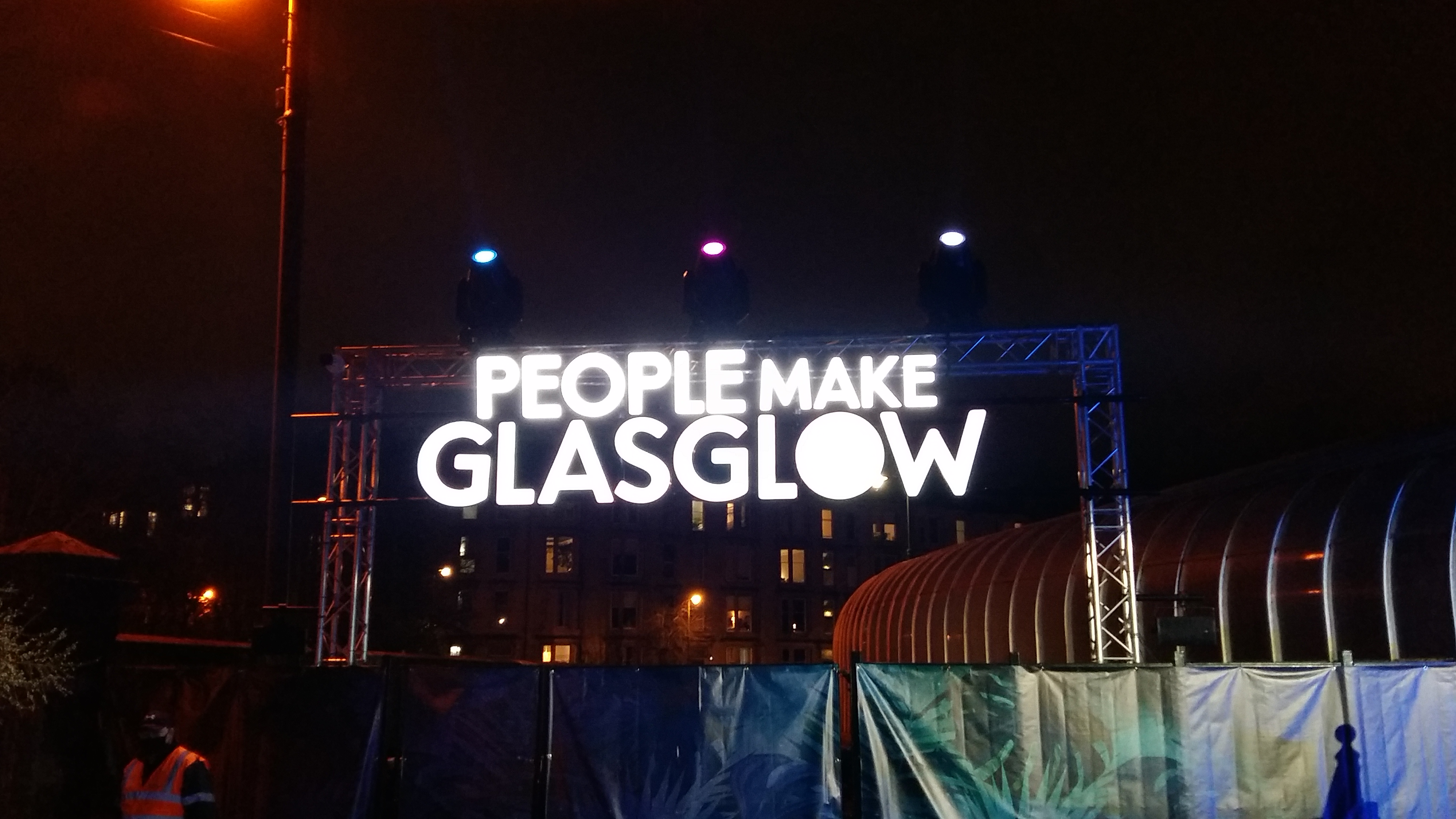 GlasGLOW: Parks, commercial events and the pandemic